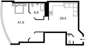 Квартира Кловский спуск, 7а, Киев, R-26318 - Фото2