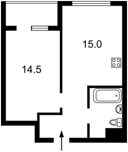 Квартира Болсуновская (Струтинского Сергея), 2, Киев, Z-442604 - Фото2