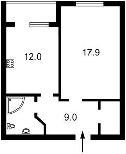 Квартира Шумського Юрія, 1, Київ, Z-440856 - Фото2