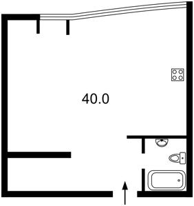 Квартира Туманяна Ованеса, 15а, Киев, Z-450383 - Фото2