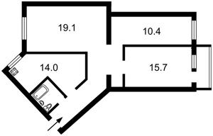 Квартира Верховного Совета бульв., 33/1, Киев, Z-450504 - Фото2
