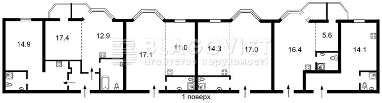 Готель, F-40956, Коперника, Київ - Фото 6
