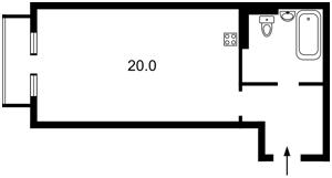 Квартира Шолуденка, 1а, Київ, Z-457159 - Фото 2