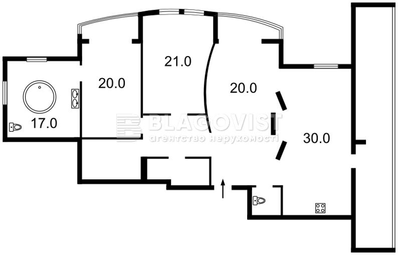 Квартира H-39748, Голосеевская, 13, Киев - Фото 6