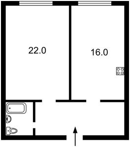Квартира Липкивского Василия (Урицкого), 16б, Киев, Z-246141 - Фото2