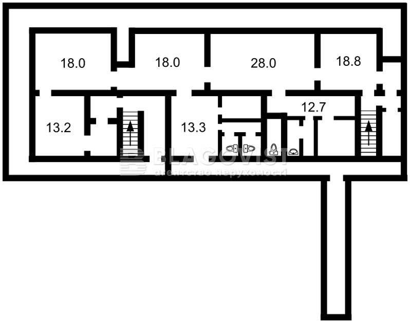 Нежитлове приміщення, A-109538, Маккейна Джона (Кудрі Івана), Київ - Фото 2