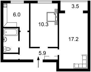 Квартира Оболонский просп., 37в, Киев, H-33982 - Фото2
