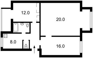 Квартира Січових Стрільців (Артема), 74, Київ, X-23803 - Фото2