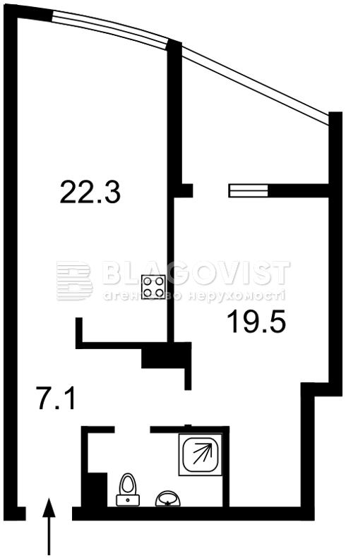 Квартира H-43132, Голосеевский проспект (40-летия Октября просп.), 60, Киев - Фото 9