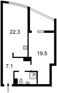 Квартира Голосіївський проспект (40-річчя Жовтня просп.), 60, Київ, H-43132 - Фото 2