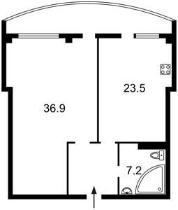Квартира Кольцова бул., 14е, Київ, R-3099 - Фото2