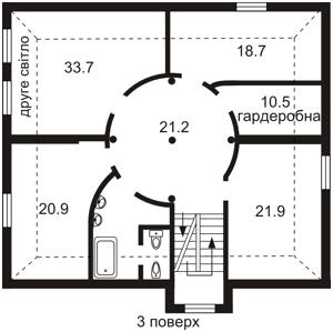 Будинок Червона, Київ, Z-717975 - Фото 3
