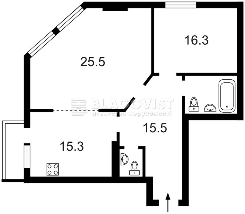 Квартира D-26862, Гришка, 9, Київ - Фото 5