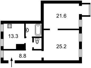 Квартира Богомольца Академика, 7/14, Киев, X-29442 - Фото2