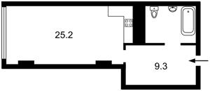 Квартира Тимошенка Маршала, 21/19, Київ, Z-451211 - Фото2
