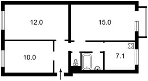 Квартира Леси Украинки бульв., 15, Киев, R-22251 - Фото2