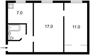 Квартира Победы просп., 7, Киев, Z-470121 - Фото2