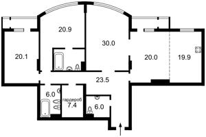 Квартира Шевченко Тараса бульв., 27б, Киев, Z-437199 - Фото2