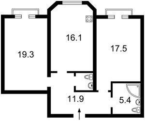 Квартира Воздвиженська, 48, Київ, F-36738 - Фото 2