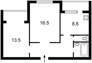 Квартира Гавела Вацлава бульв. (Лепсе Івана), 36в, Київ, Z-375456 - Фото2