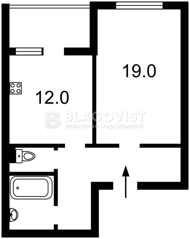 Квартира R-21051, Глушкова Академика просп., 9е, Киев - Фото 4