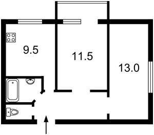 Квартира Сечевых Стрельцов (Артема), 53, Киев, Z-476044 - Фото2