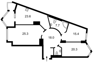 Квартира R-22876, Хмельницкого Богдана, 58а, Киев - Фото 4