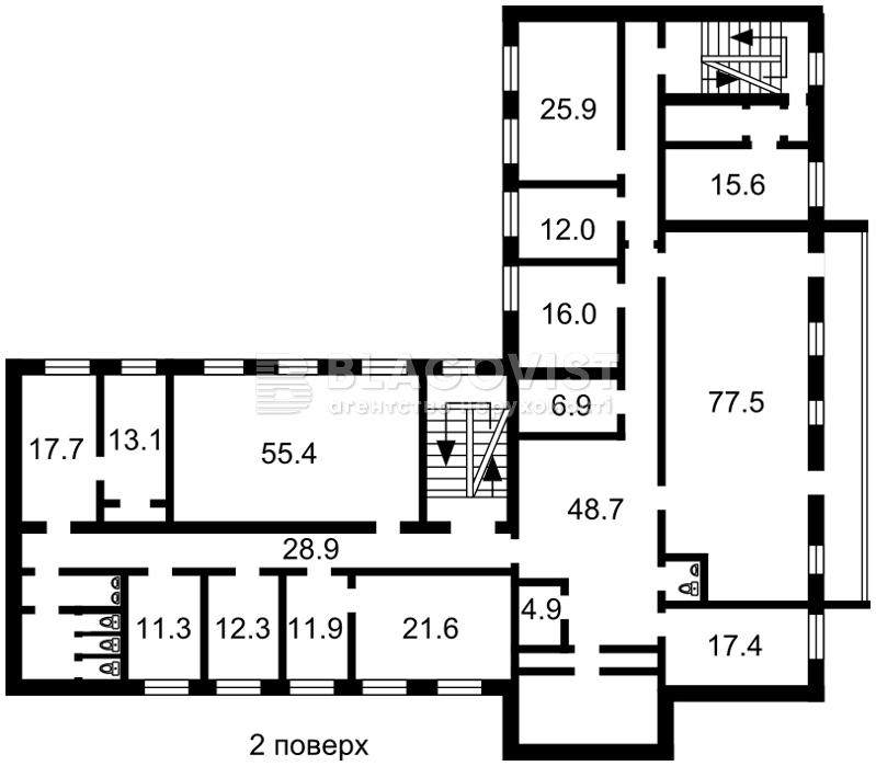 Нежитлове приміщення, E-38088, Стальського Сулеймана, Київ - Фото 3