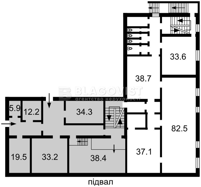 Нежилое помещение, E-38088, Стальского Сулеймана, Киев - Фото 4