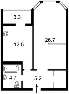 Квартира Коновальца Евгения (Щорса), 34а, Киев, Z-329228 - Фото2