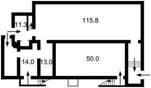 Нежитлове приміщення, Січових Стрільців (Артема), Київ, Z-382469 - Фото1