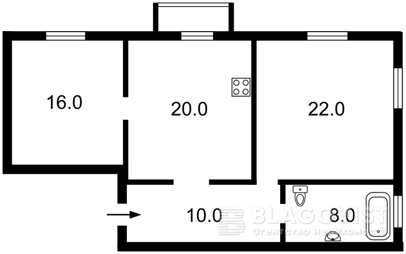 Квартира R-23545, Рейтарская, 30, Киев - Фото 5