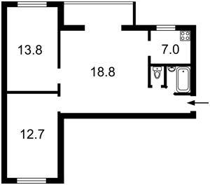 Квартира Верхний Вал, 50а, Киев, Z-1393774 - Фото2