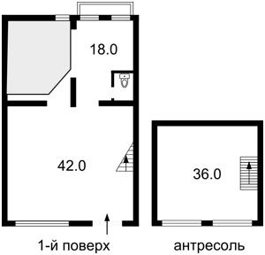 Нежилое помещение, Лютеранская, Киев, E-38127 - Фото 3