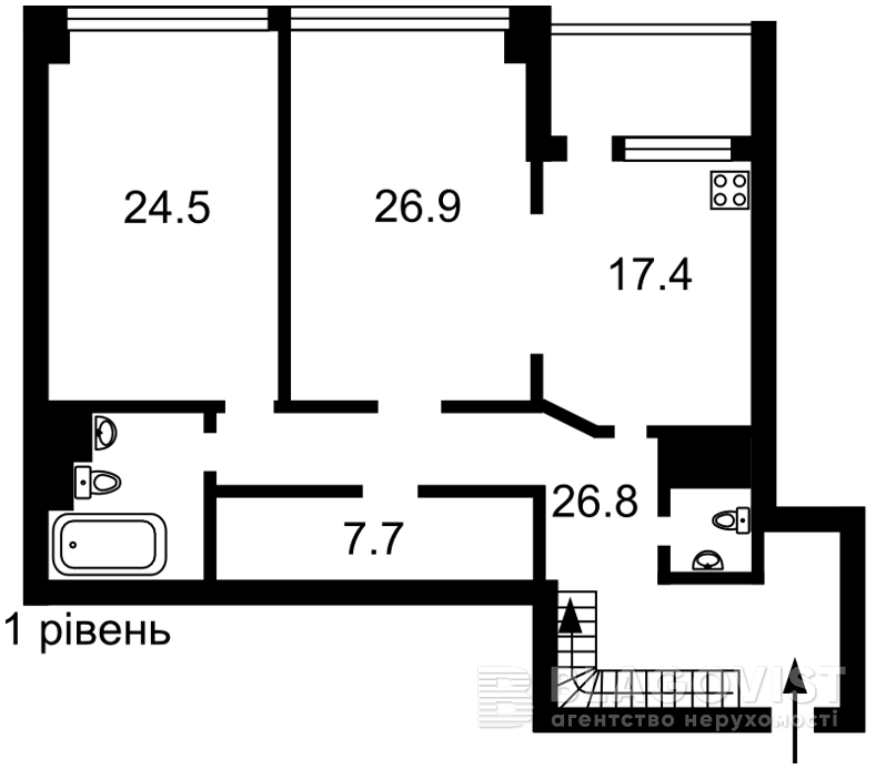 Квартира H-43464, Саперное Поле, 3, Киев - Фото 6