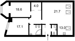 Квартира Шота Руставели, 44, Киев, M-34388 - Фото2
