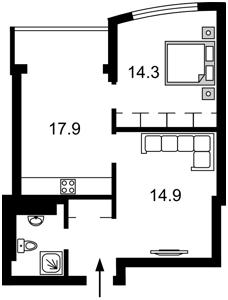 Квартира Голосеевская, 13а, Киев, A-109801 - Фото2