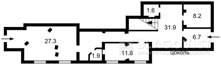 Нежитлове приміщення, F-41129, Соборна, Ірпінь - Фото 2