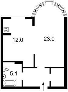 Квартира Черновола Вячеслава, 27, Киев, Z-156973 - Фото2