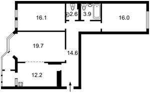 Квартира Коперника, 3, Киев, Z-476381 - Фото2
