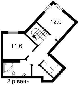 Квартира Тютюнника Василия (Барбюса Анри), 37/1, Киев, P-25131 - Фото 3