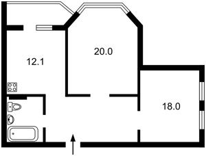 Квартира Гмыри Бориса, 6, Киев, Z-490645 - Фото2