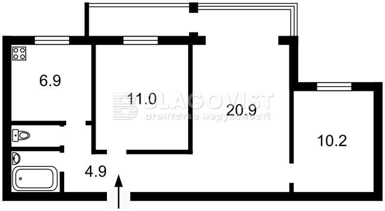 Квартира Z-370100, Липкивского Василия (Урицкого), 27/5, Киев - Фото 3