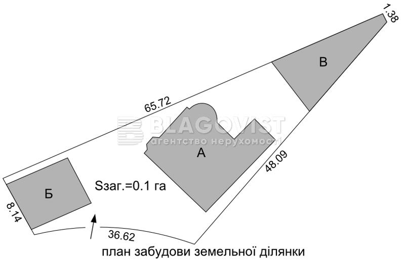 Дом F-41161, Октябрьская, Петропавловская Борщаговка - Фото 7