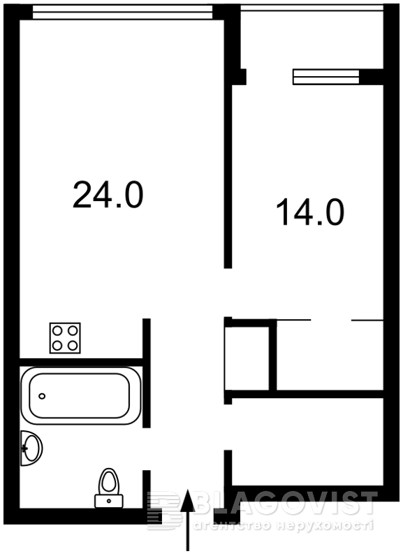 Квартира R-23516, Джона Маккейна (Кудри Ивана), 7, Киев - Фото 8