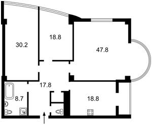 Квартира Зверинецкая, 59, Киев, Z-477239 - Фото 2