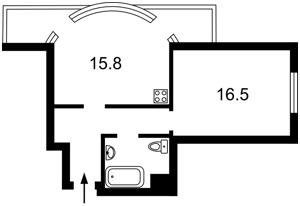 Квартира Вышгородская, 45, Киев, R-13096 - Фото2