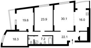 Квартира Окипной Раиcы, 10б, Киев, Z-497003 - Фото2
