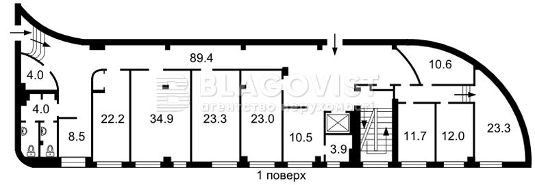 Нежитлове приміщення, A-109877, Спортивна пл., Київ - Фото 3