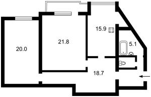 Квартира Бажана Миколи просп., 30, Київ, Z-496156 - Фото2